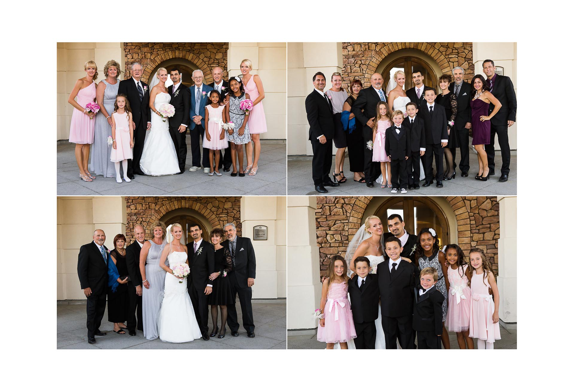 chino hills wedding photos